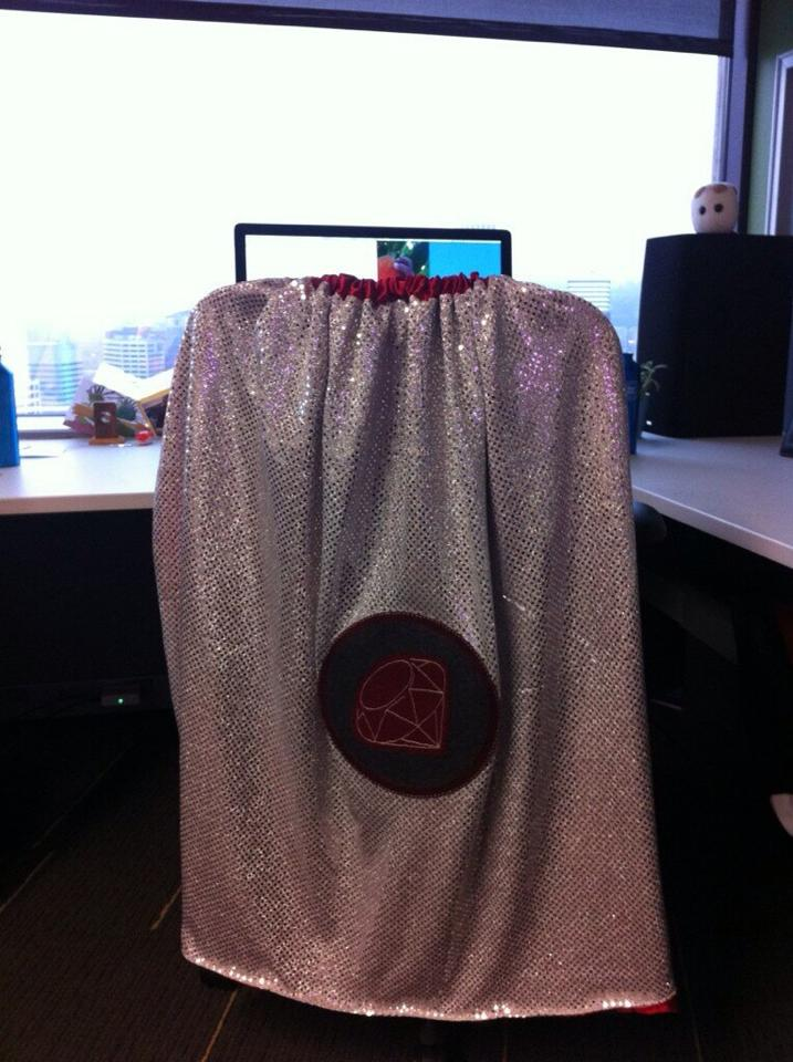 The Ruby support hero cape at work